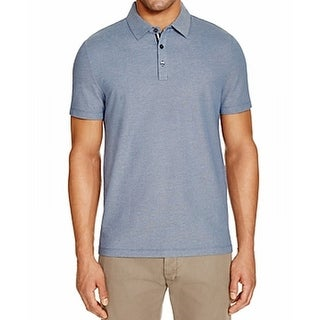 Michael Kors NEW French Blue Mens Size 2XL Polo Rugby Cotton Shirt