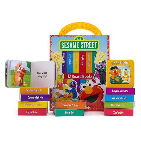 Sesame Street Refresh My First Library