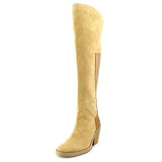 Naya Ansible Women Round Toe Suede Knee High Boot