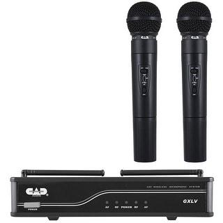 CAD 2 Handheld Wireless Mics UHF K Band