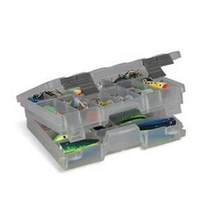 Plano Two-Tier Medium Box Smoke