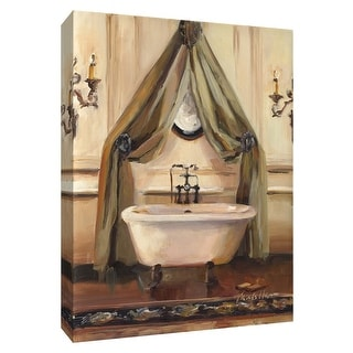 "PTM Images 9-154826  PTM Canvas Collection 10"" x 8"" - ""Classical Bath II"" Giclee Bathroom Art Print on Canvas"