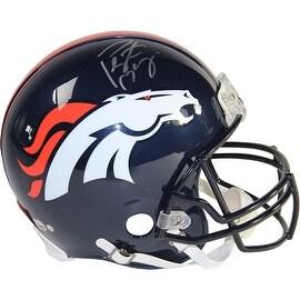 Peyton Manning Signed Denver Broncos Authentic Helmet ()
