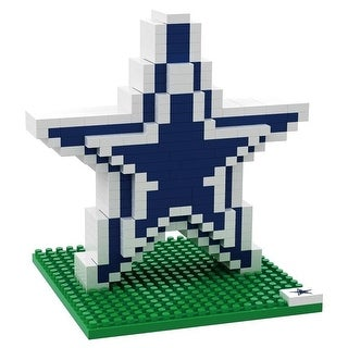 Dallas Cowboys 3D NFL BRXLZ Bricks Puzzle Team Logo