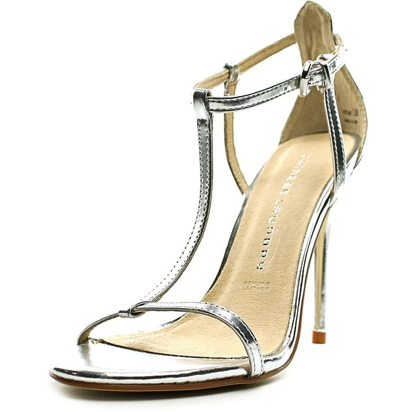 Chinese Laundry Leo Women Silver Sandals