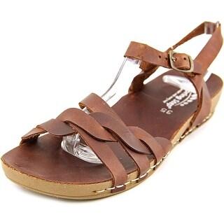 Spring Step Causeway Open Toe Leather Gladiator Sandal