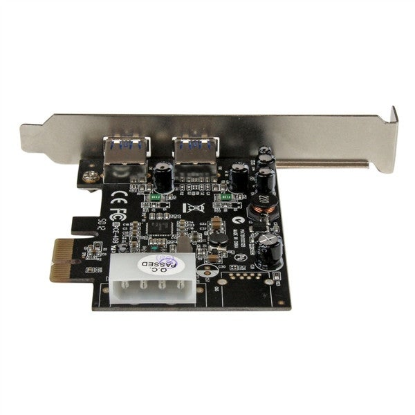 Startech - Pexusb3s25 2Port 5 Gbps Usb 3 Pciencontroller Card W/ Uasp Support