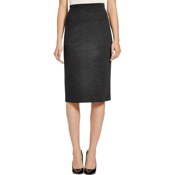 7deaca24f1 Shop Vince Camuto Womens Pencil Skirt Ponte Midi - Free Shipping On ...