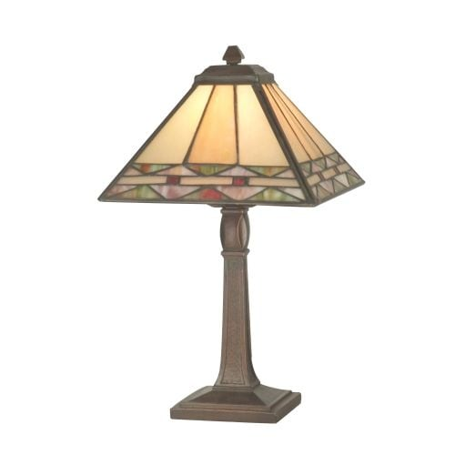 """Dale Tiffany TA70678 8"""" x 13.75"""" Slayter Accent Lamp from the Miniature Collection - n/a"""