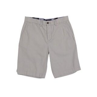 Tommy Hilfiger Men's Classic-Fit Chino Shorts (30, Light Grey) - Light Grey - 30