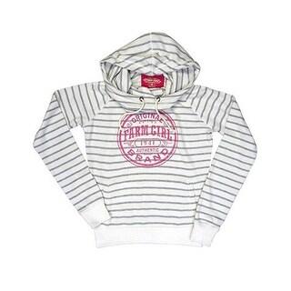 Farm Girl Western Sweatshirt Womens Cowl Neck Ivory F23947131