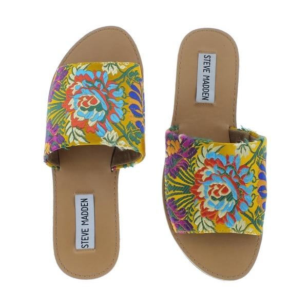 4d77af849e41 Shop Steve Madden Womens Grace Flat Sandals Open Toe - Free Shipping ...