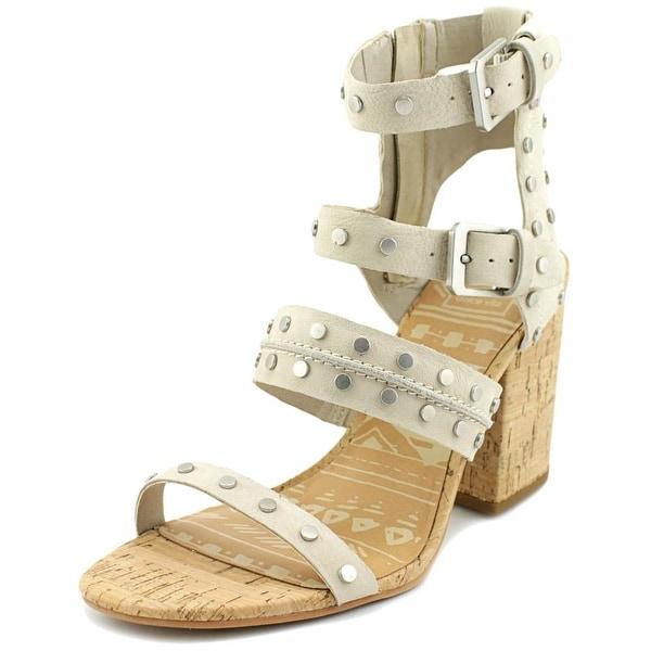 9c21515e8ff Shop Dolce Vita Effie Women Open Toe Leather Tan Gladiator Sandal ...