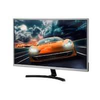 (Open Box) Monoprice 32in 4K 3840x2160 HDR IPS AMD FreeSync Ultra Slim Desktop Monitor Gun Metal with Slim Bezel