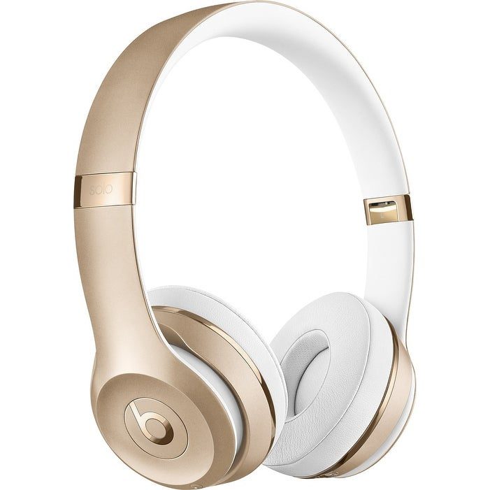 Beats by Dr. Dre - Beats Solo 3 Wireless Headphones - Gold Gold