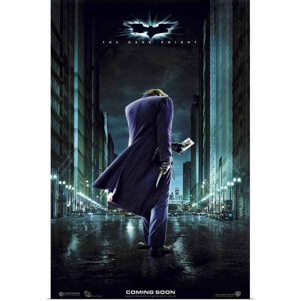 Shop The Dark Knight 2008 Poster Print Overstock 24134442