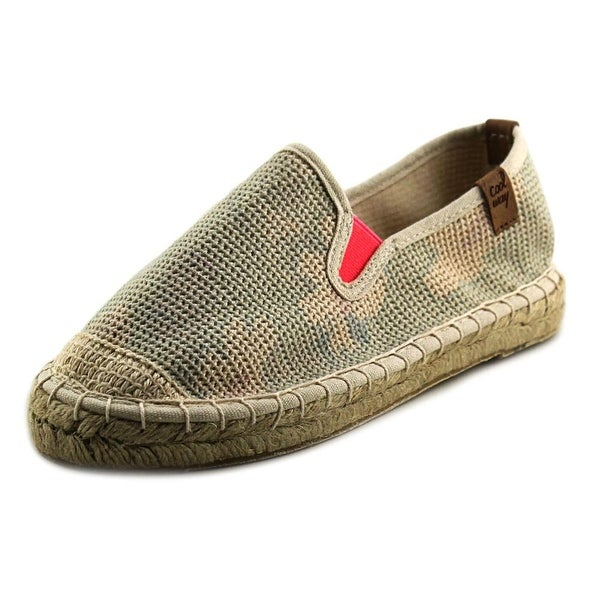Coolway Jitsu Women Moc Toe Canvas Espadrille