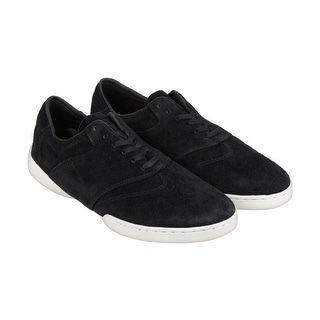 HUF Dylan Mens Black Suede Lace Up Sneakers Shoes