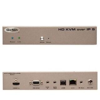 Gefen Ext-Hdkvm-Lantx Gefen Hd Kvm Over Ip - 330 Ft Range - 1 X Network (Rj-45) - 1 X Usb - 1 X Hdmi - Rack-Mountable