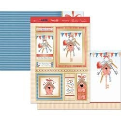Home Is Where The Heart Is - Hunkydory Special Days A4 Topper Set