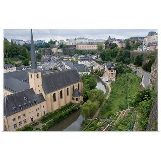 """Luxembourg City, Luxembourg"" Poster Print"
