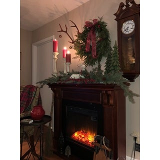 Real Flame Ashley Electric Fireplace Mahogany