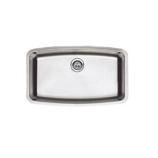 "Blanco 440104 Performa 32"" Single Bowl Stainless Steel Kitchen Sink"