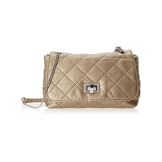 Wild Pair Womens Crossbody Handbag Faux Leather Quilted - small