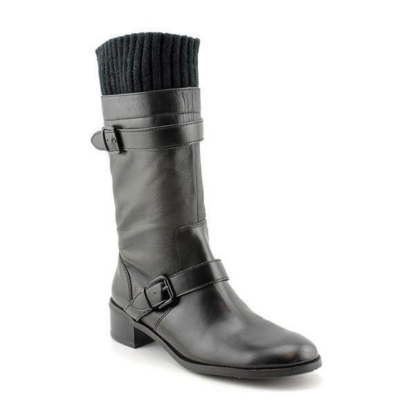 Ellen Tracy Teddy Women Round Toe Synthetic Mid Calf Boot