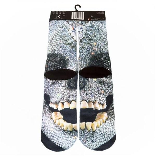 Odd Sox OSFALL1SKUL Skull Socks, 6-12 Unisex