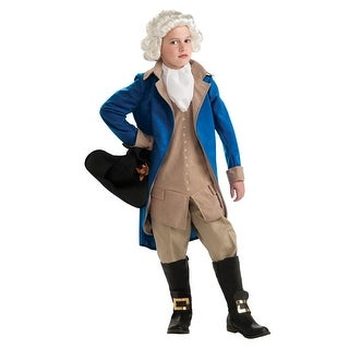 Rubies George Washington Deluxe Child Costume - Blue/Beige
