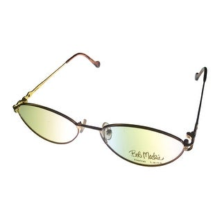 Bob Mackie Tear Drop Metal Eyewear Frame BM 775 Gold Copper - Medium