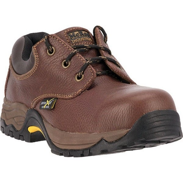 McRae Industrial Work Shoes Mens ST XRD Met Oxford Brown