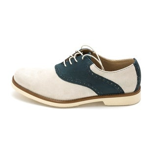 Chaps Mens Fairbanks Leather Lace Up Dress Oxfords