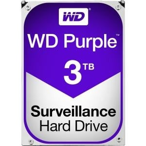 "Western Digital Hard Drive Wd30purz Wd Purple Av 3.5"" 3Tb 64Mb Sata 6Gb/S Hdd"