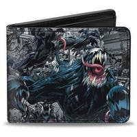 Marvel Universe Venom Action Pose Bi Fold Wallet - One Size Fits most