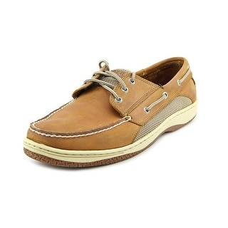 Sperry Top Sider Billfish 3-Eye Men Moc Toe Leather Brown Boat Shoe