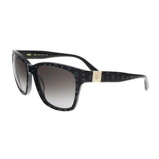 MCM600S 003 Black Visettos Wayfarer Feline Sunglasses - 59-17-140