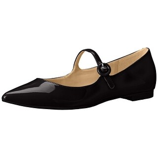 Marc Fisher Womens Stormy Pointed Toe Slide Flats
