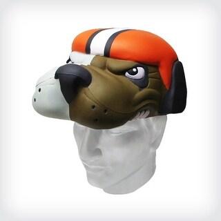 NFL Team Mascot Foamhead Hat: Cleveland Browns - Orange