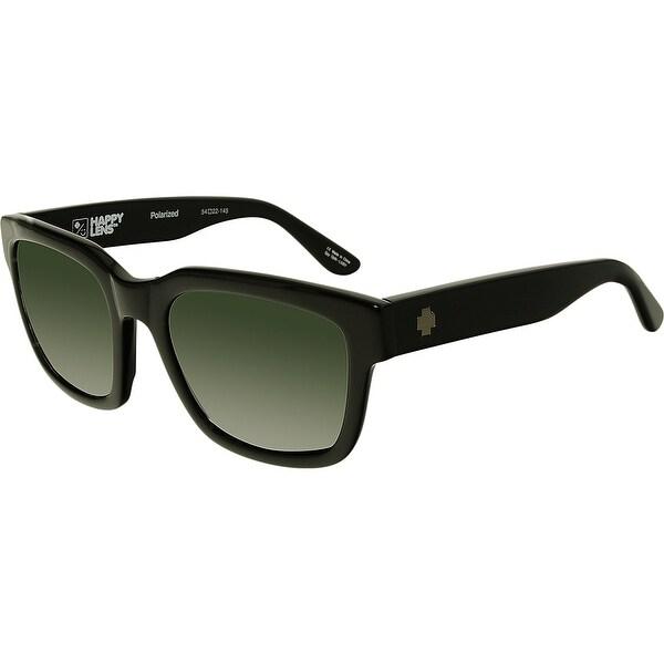 0962c5dbb5262 Spy Men  x27 s Polarized Trancas 673240038864 Black Square Sunglasses