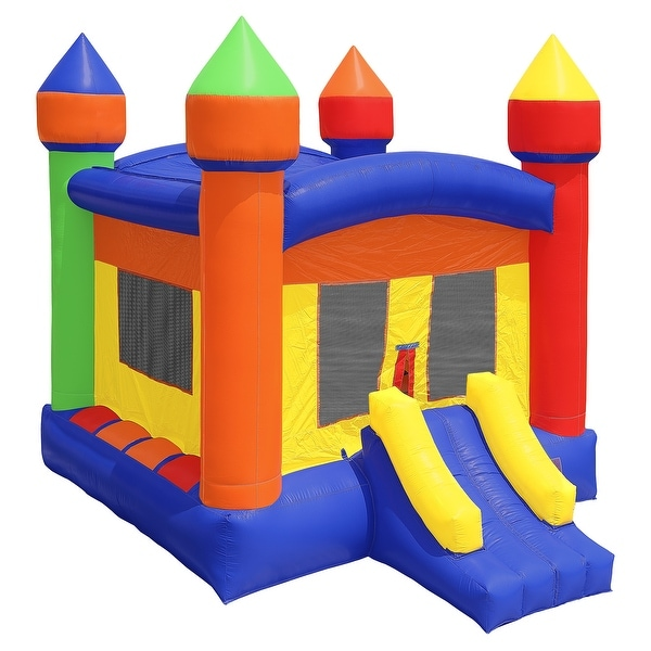 350312d68f2 Commercial Bounce House 100% PVC 13 x 13 Inflatable Castle Jump with Blower