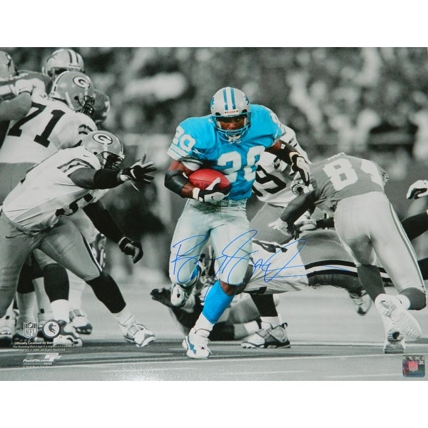40a7349f Barry Sanders Detroit Lions Action vs Packers Spotlight 16x20 Photo