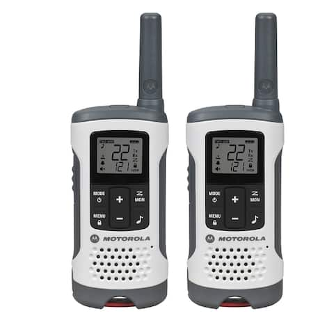 Motorola T260 Talkabout Rechargeable 2-Way Radio, White