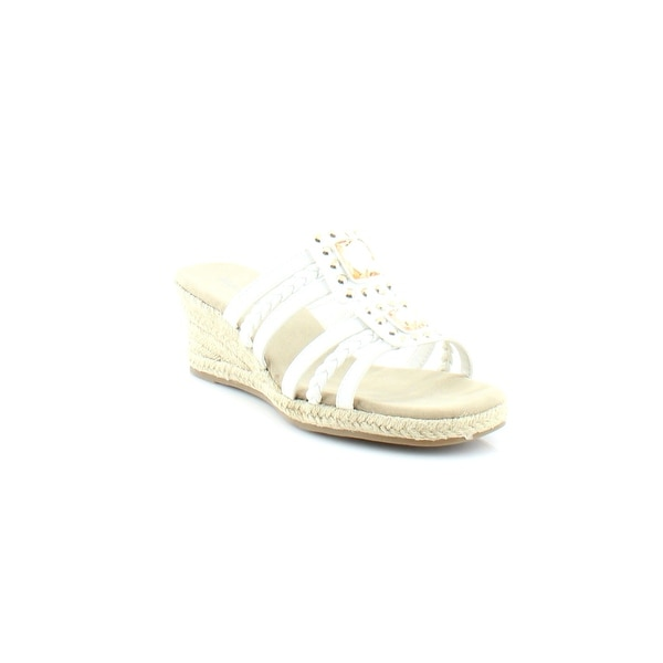 Easy Street Bazinga Women's Sandals & Flip Flops White