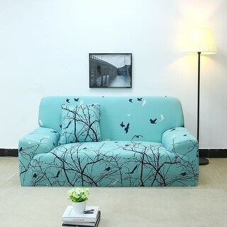 Unique Bargains Polyester Stretch Slipcover (92 x 118 Inch) - #5