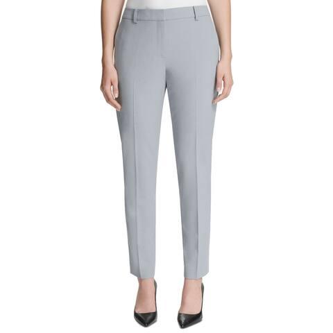 DKNY Womens Pants Celeste Blue Size 16 Skinny Leg Fixed-Waist Ankle