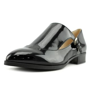 Nine West Nyessa Cap Toe Synthetic Loafer