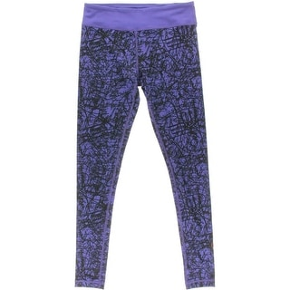 Zumba Womens Printed STRETCH Yoga Legging - M