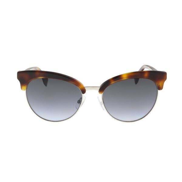 Fendi FF 0229/S 86 Dark Havana Eyewear Sunglasses - 55-18-140